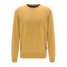 Fynch-Hatton Superfine 3 Ply Cotton Round Neck Sweater