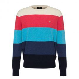 Fynch-Hatton Round Neck Superfine Cotton Sweater