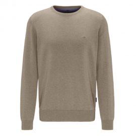 Fynch-Hatton Superfine 3 Ply Cotton Round Neck Sweater