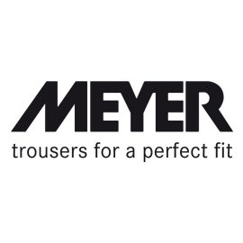 Meyer M5 Slim fit black jeans