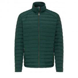 Fynch Hatton lightweight down jacket – Emerald green