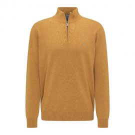Fynch Hatton half zip supersoft cotton