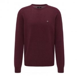 Fynch Hatton round neck supersoft cotton sweater