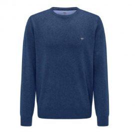 Fynch Hatton superfine 3 ply cotton sweater (ink)