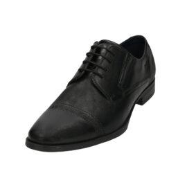Bugatti black formal leather shoe