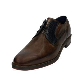Bugatti brown leather shoes