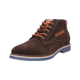 Bugatti brown suede boot