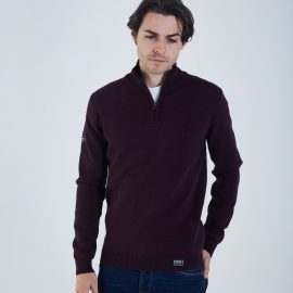 Colin half zip port royale
