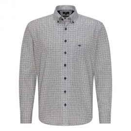Fynch Hatton regular fit print shirt