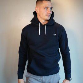 Walker and Hunt dark navy hoodie