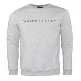 Walker and Hunt classic grey sweatshirt