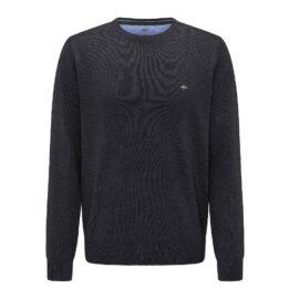 Fynch Hatton superfine cotton black sweater