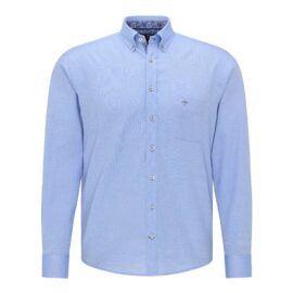 Fynch Hatton blue cotton shirt