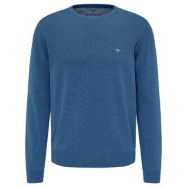 Round Neck Fynch Hatton sweater – azure