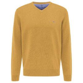 V Neck Fynch Hatton sweater – Sunlight