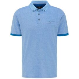 Polo top with contrast collar Fynch Hatton (royal)