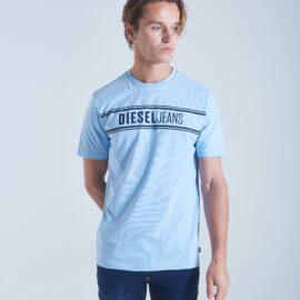 Diesel harley tee – blue breeze