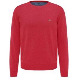 Round Neck Fynch Hatton sweater – hibiscus