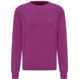 Round Neck Fynch Hatton sweater – thistle