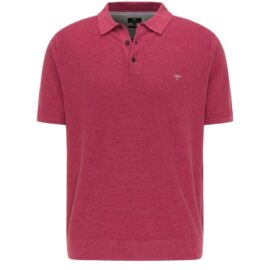 Polo – structured knit by Fynch Hatton – mauve