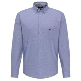 Blue cotton shirt Fynch Hatton