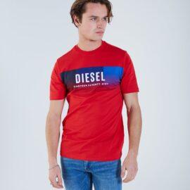 Diesel theon tee – true red