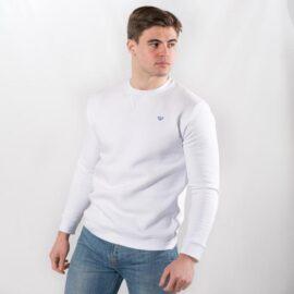 White V stitch Sweatshirt walker and hunt