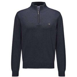 Half zip sweater Fynch Hatton – navy