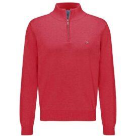 Half zip sweater Fynch Hatton – hibiscus