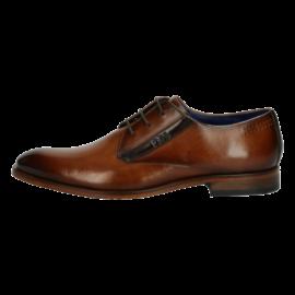 Tan leather Bugatti shoe