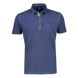 Faded blue polo top by Lerros
