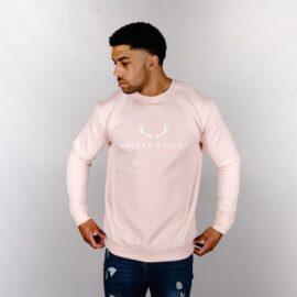 Light pink signature sweatshirt